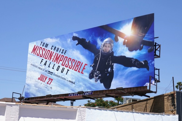 Mission Impossible Fallout movie billboard