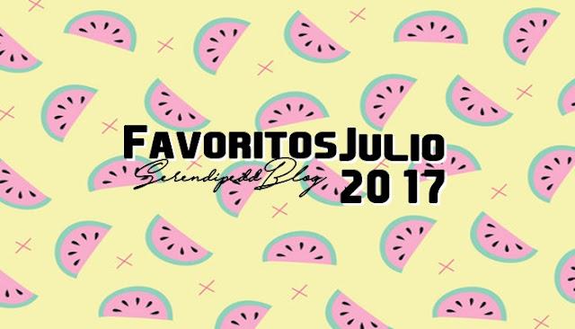 Favoritos Julio 2017