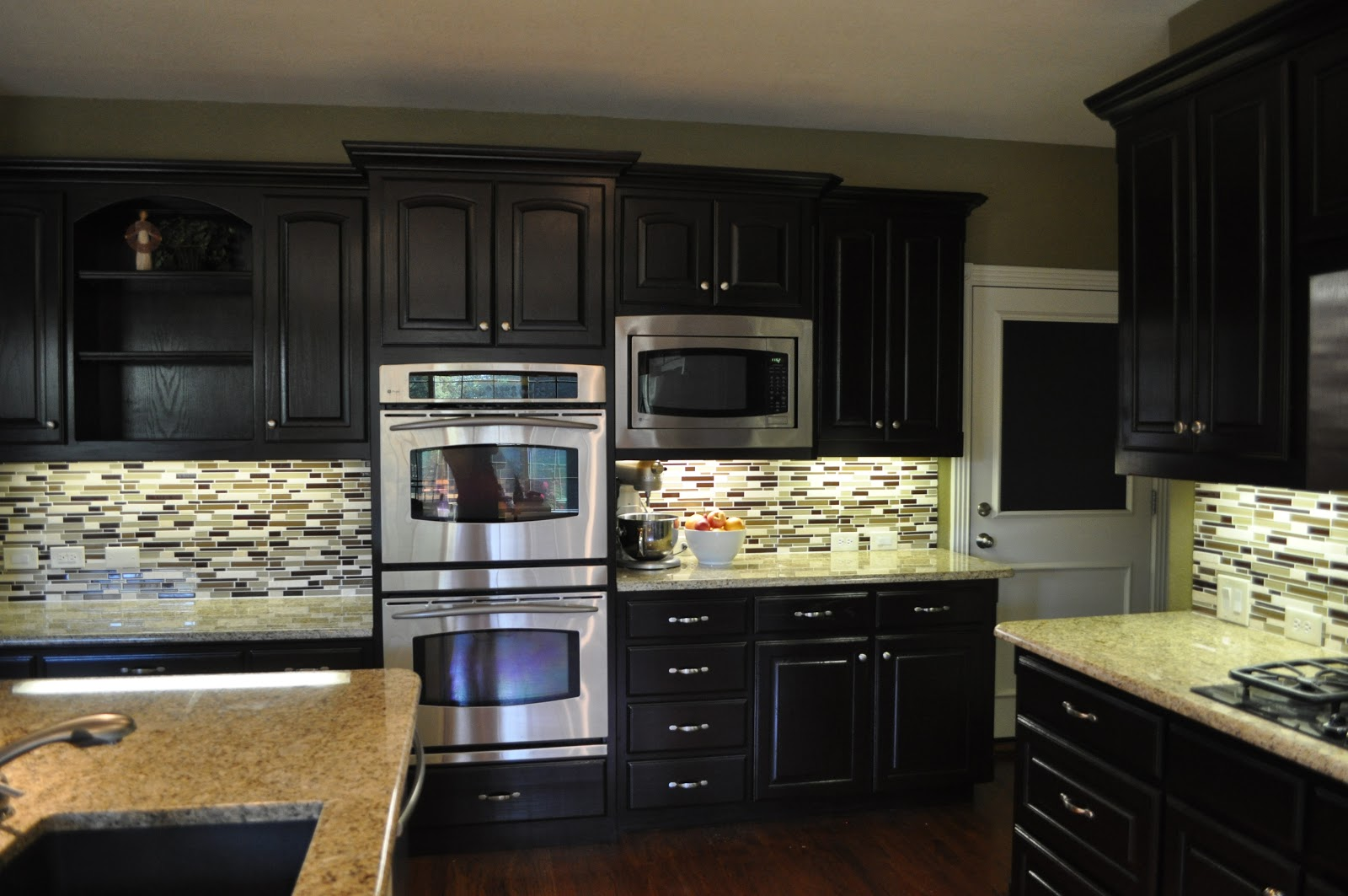 general finishes java gel stain kitchen cabinets staining kitchen cabinets