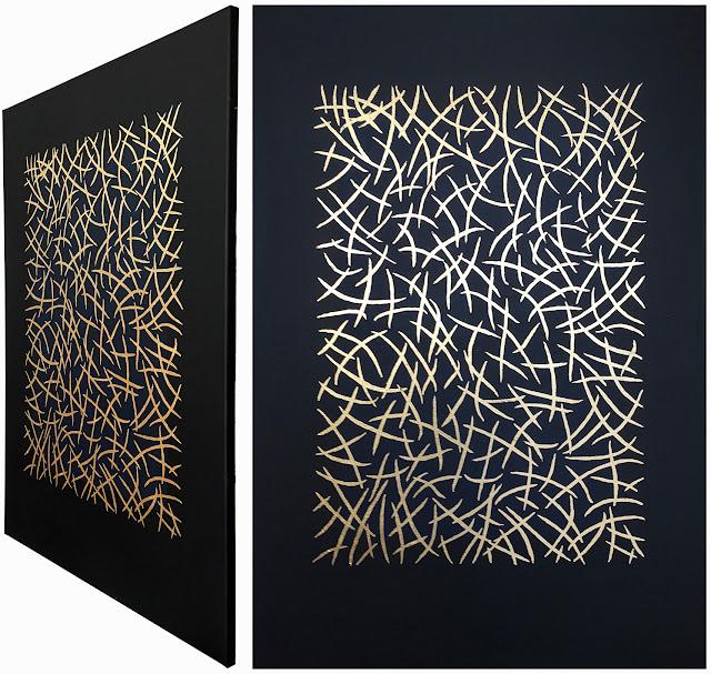 Abstrakte Malerei das größere Format