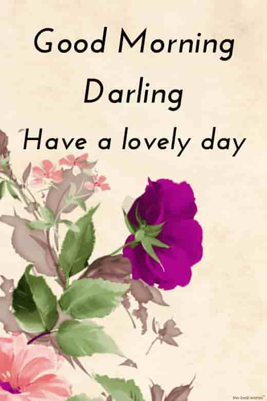 good morning hd image for darling