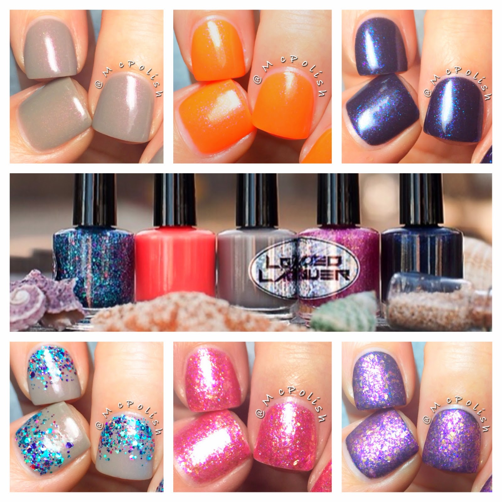 Loaded Lacquer - Hula Girl Collection - McPolish