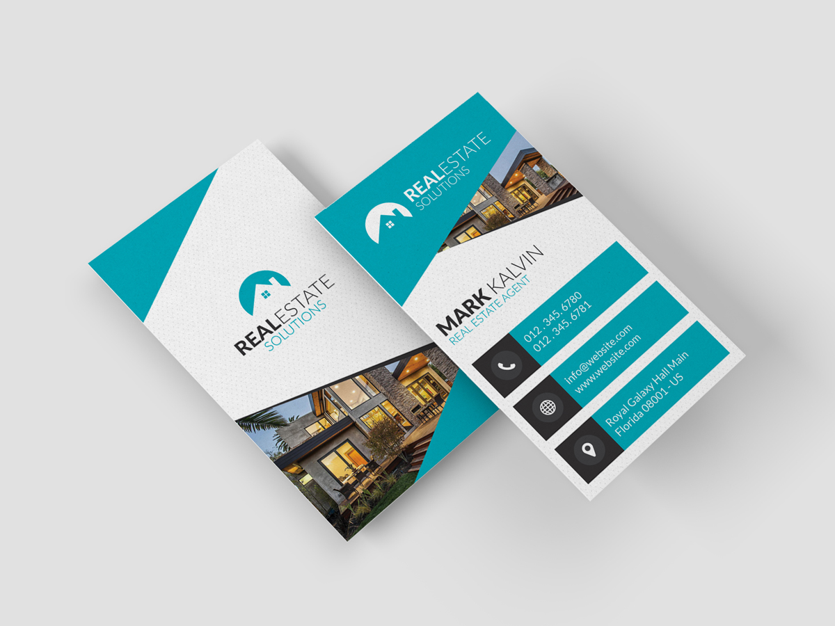 Business Cards Real Estate Ideas Image collections - Card Design And ...