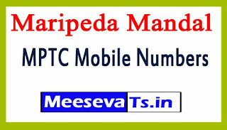 Maripeda Mandal MPTC Mobile Numbers List Warangal District in Telangana State