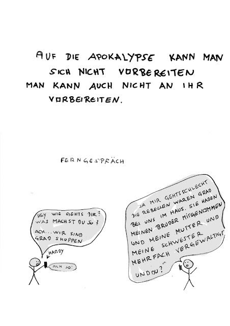 Dr. Kristian Stuhl 2012, Ferngespräch,  Das Klo spült alles fort, A4