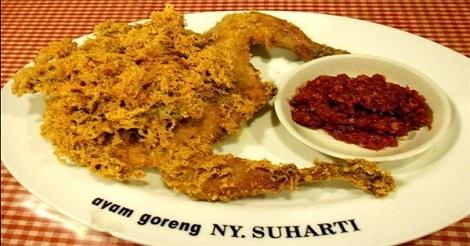 Ayam Kremes Ny.Suharti, Menteng Jakarta Pusat
