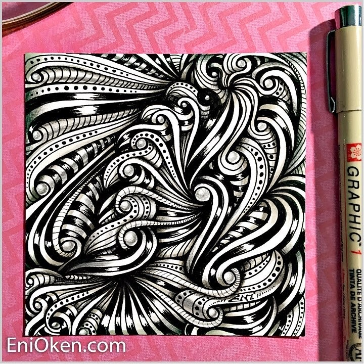 02-Fractalize-Eni-Oken-Color-and-Black-and-White-Zentangle-Drawings-www-designstack-co