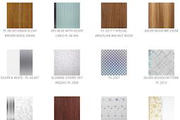 Katalog Plafon PVC (SHUNDA)