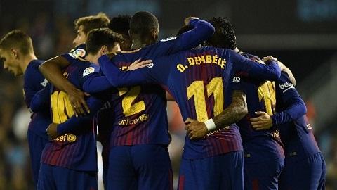 Hòa may mắn trên trận địa Balaidos, Barca tiếp tục viết thêm vào chuỗi bất bại ở La Liga với 40 trận chưa để thua.