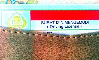 SIM Surat Ijin Mengemudi