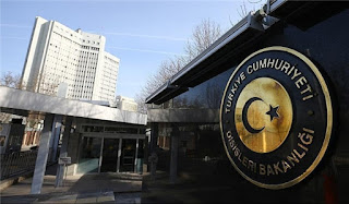 Le ministère turc des Affaires étrangères