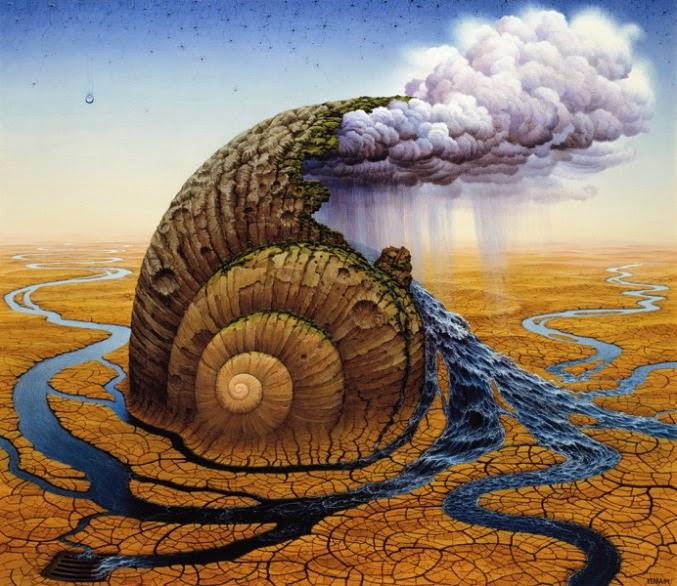 Segundo Dia do Gênesis - Jacek Yerka e seu surrealismo fantástico ~ Polonês