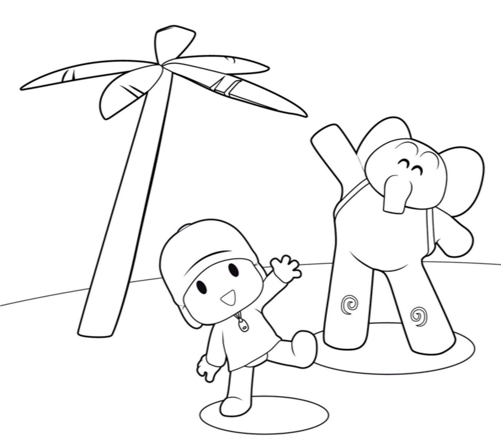 Pocoyo Coloring Pages Free Printable Coloring Pages Coloring Pages Of A