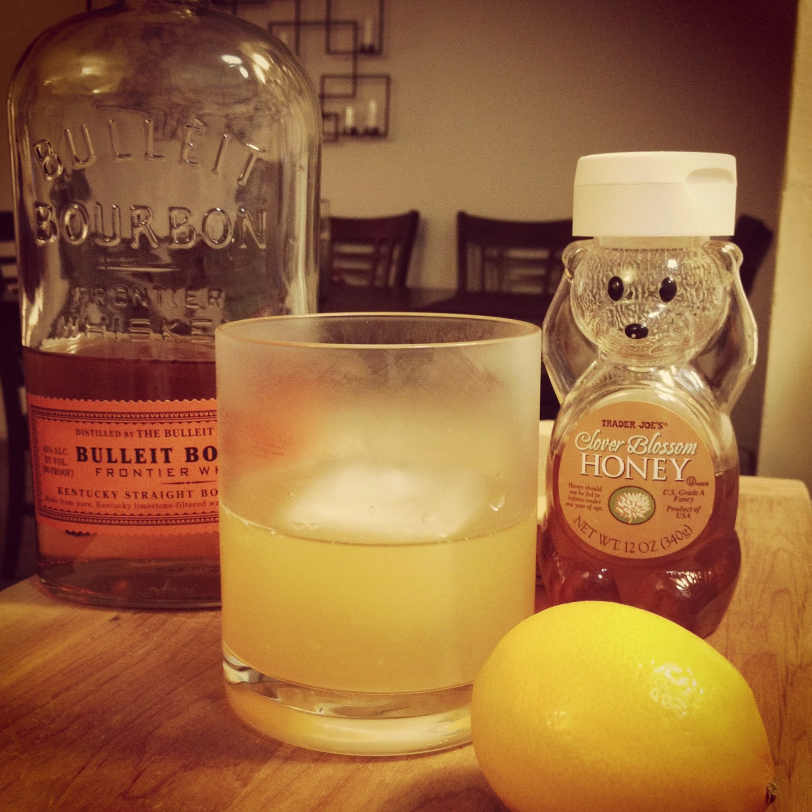 The Lush Chef: Gold Rush Cocktail