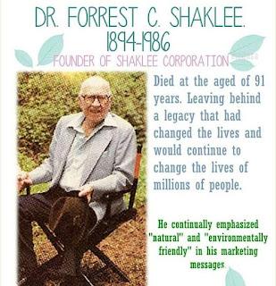 Dr Forrest C SHaklee