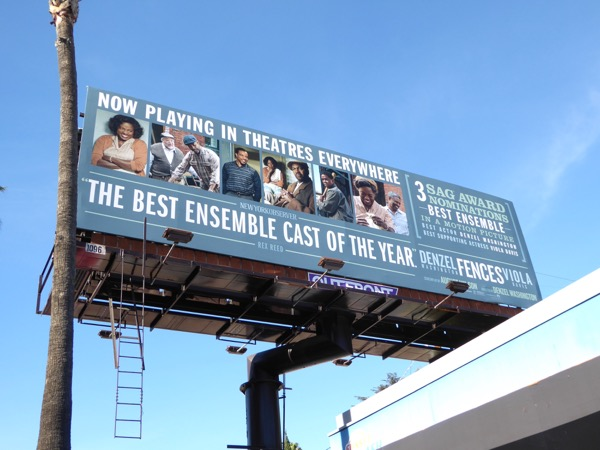 Fences Best ensemble cast awards billboard