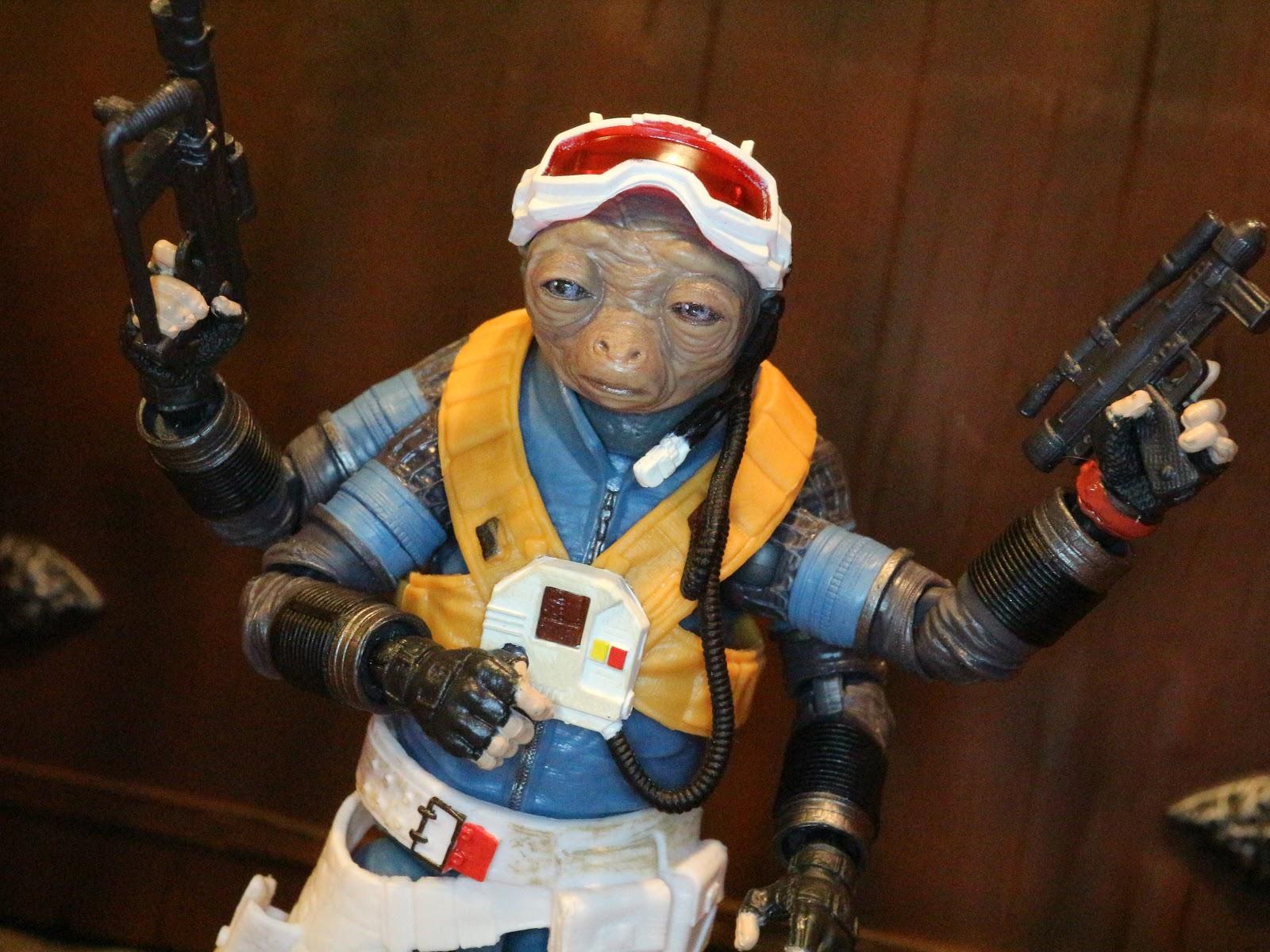 """Star Wars premier ordre officier ou pilote Blaster Gun for 3.75/"""" FIGURE"""
