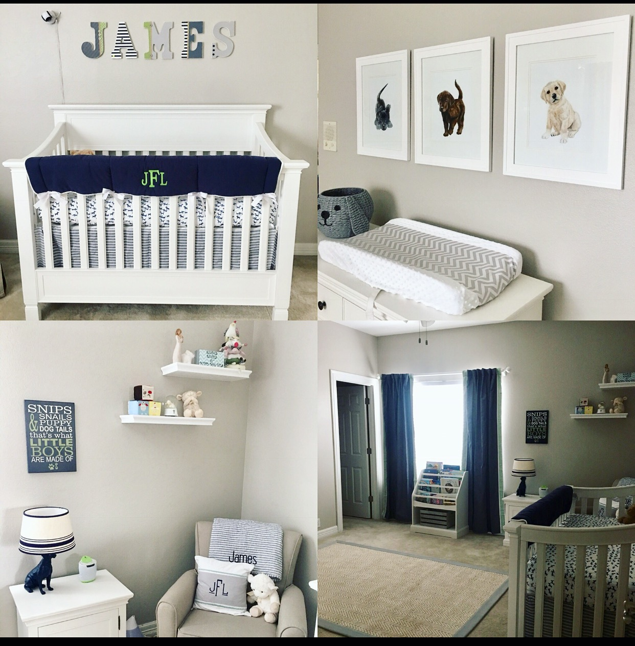 The Kitchen Diaries James Lucas Puppy Inspired Nursery
