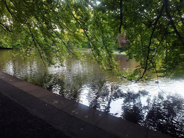 St Stephen Green parque en Dublín