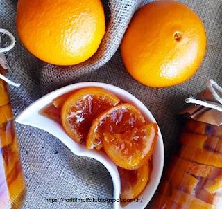 portakal reçeli resmi