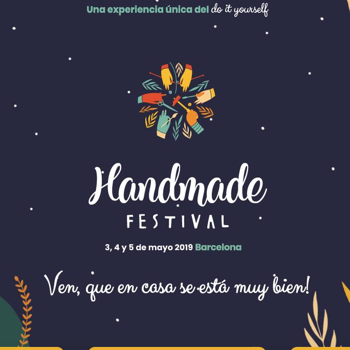 ¿Te vienes a handmade? ¡Yo no me lo pierdo!