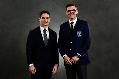 Jeff Gordon with Ray EvernhamJeff Gordon with Ray Evernham #NASCAR Hall of Fame