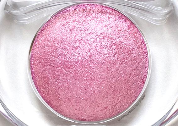 PUPA Vamp Wet Dry Eyeshadow 005 Glam Pink Review