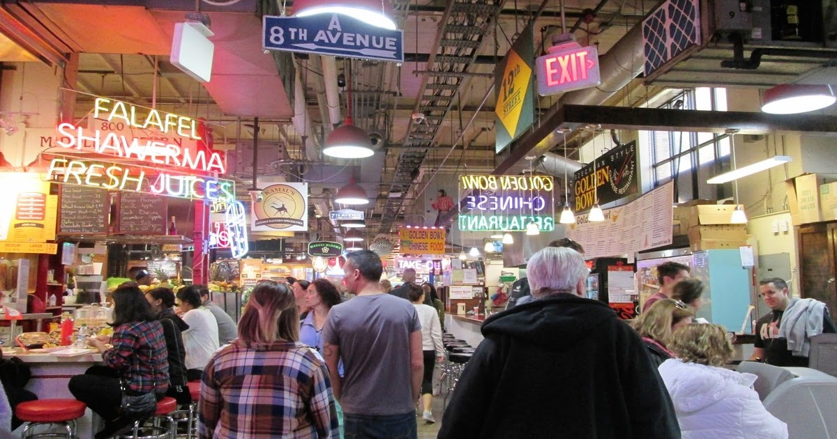 Dove mangiare a Philadelphia: il Reading Terminal Market