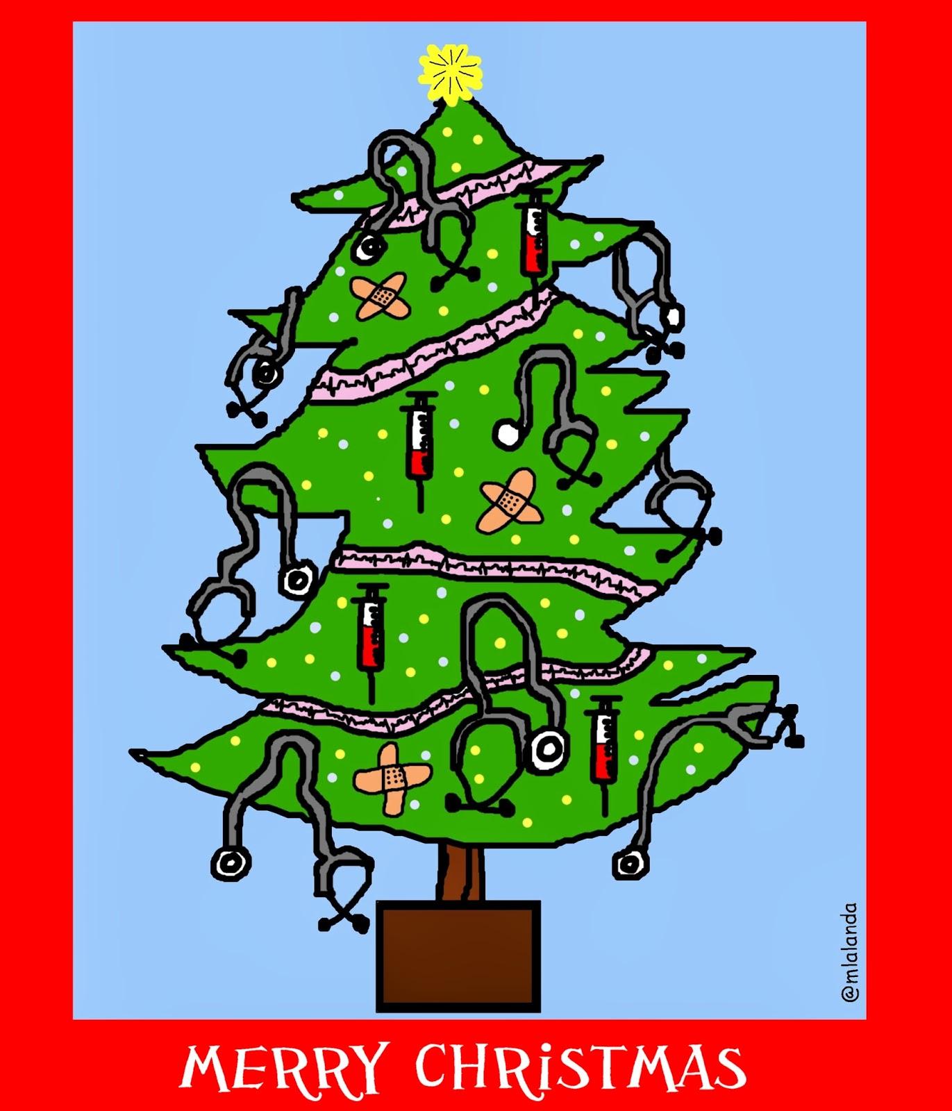 Resultado de imagen de feliz navidad sanitarios