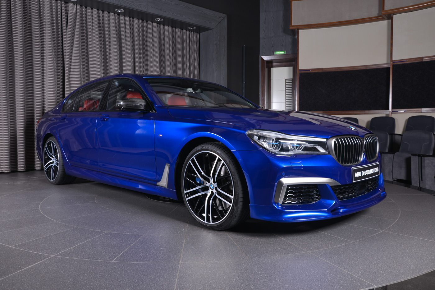 San Marino Blue Bmw M760li Looks Almost Perfect Carscoops
