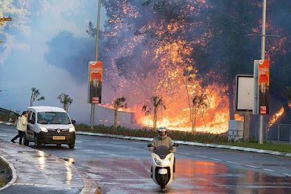 Do'a Untuk Yahudi Israel Yang Sedang Terbakar