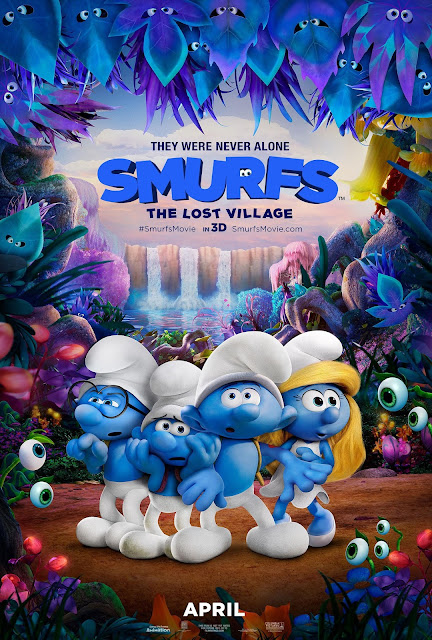 SMURFS:The Lost Village movie #swag giveaway