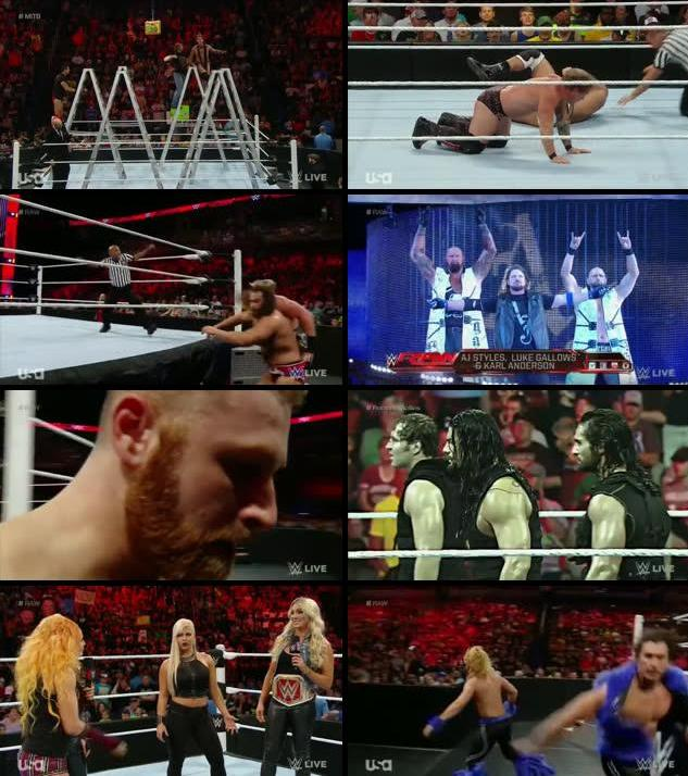 WWE Monday Night Raw 06 June 2016 HDTV 480p