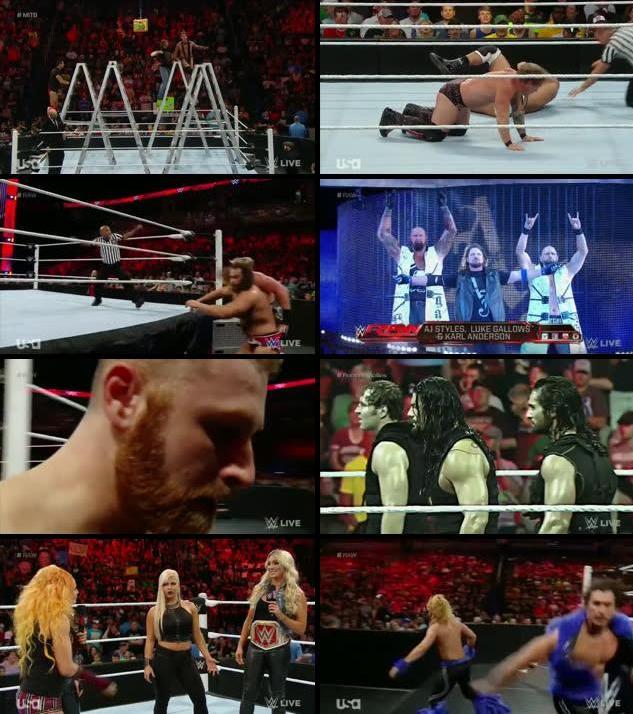 WWE Monday Night Raw 6 June 2016 full episode