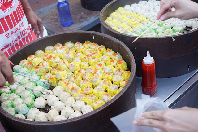 Malacca Jonker Street Night Market - Mr Pau Dim Sum