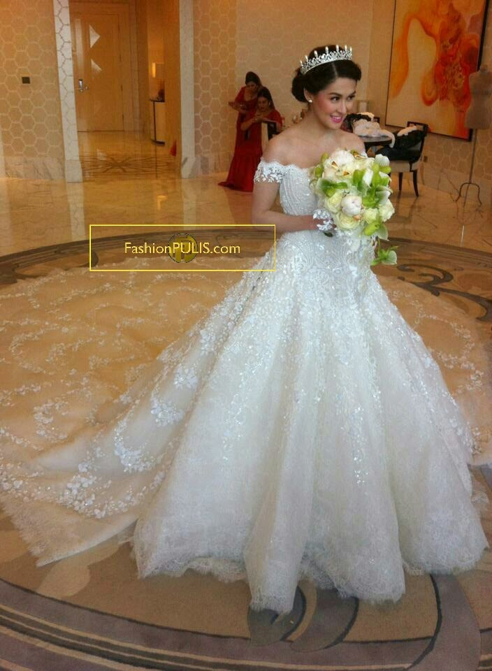 Wedding Hairstyle Of Marian Rivera Hairstyle 817