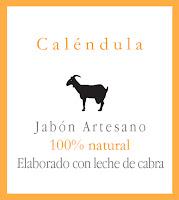 Jabón natural de Leche de Cabra y Caléndula
