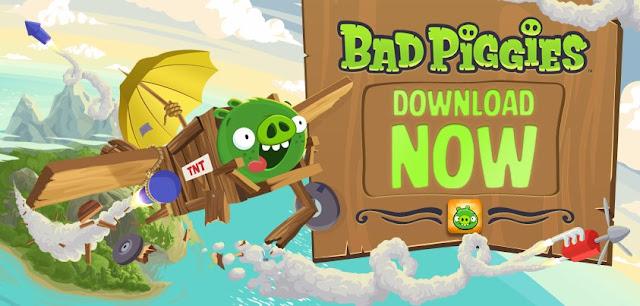 تحميل لعبة Bad Piggies برابط مباشر على الكمبيوتر