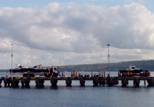3 Buah Speedboat Patroli Polres Kep. Selayar, Tiba Di Dermaga
