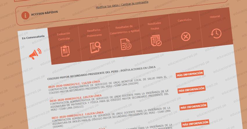 MINEDU: Convocatoria CAS AGOSTO 2020 - Más de 100 Puestos de Trabajo en el Ministerio de Educación [INSCRIPCIÓN DE POSTULANTES HASTA EL 7 DE AGOSTO] www.minedu.gob.pe