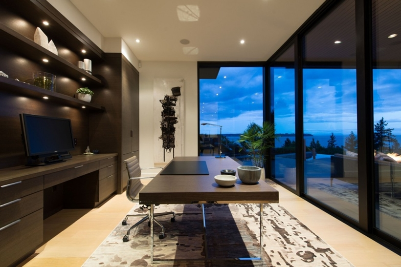 World Of Architecture Elegant Modern House In West Vancouver Canada