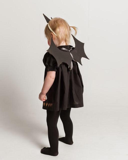 Disfraz de murciélago super fácil