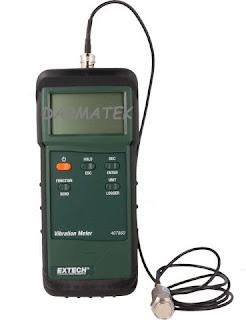Darmatek Jual Extech 407860 Heavy Duty Vibration Meter
