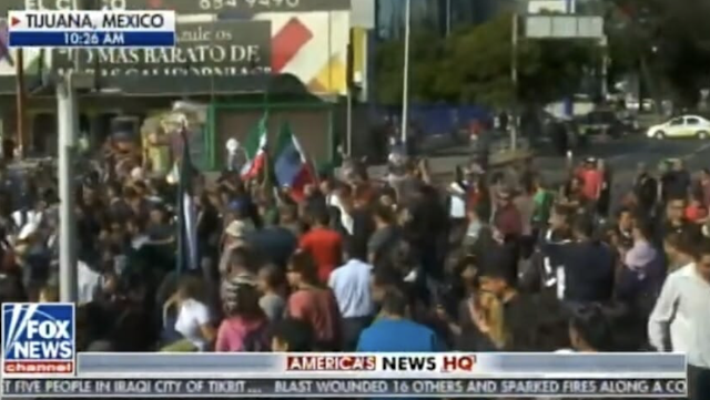 "Mexican Protesters Scream at Illegal Immigrants: ""Donald Trump Was Right! This Is an Invasion"" (VIDEO)"