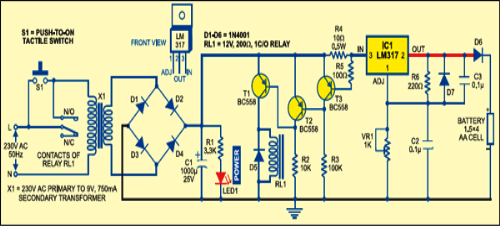 Solar Charger Circuit Project Using Transistors