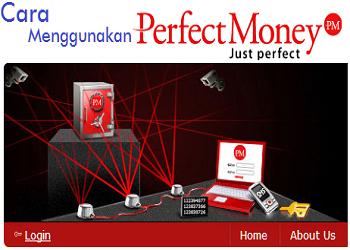 cara menggunakan perfect money