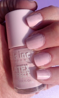 Nails Inc Latex Effect Swatch