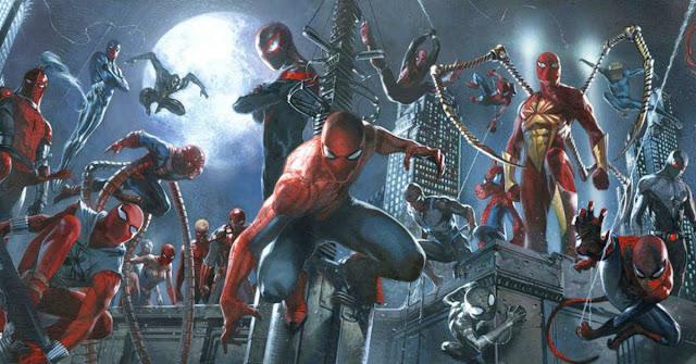 Homem-Aranha Aranhaverso universo aranha
