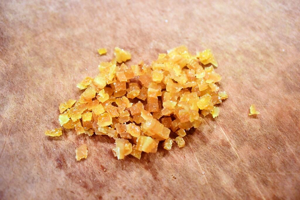 how to make orange paste