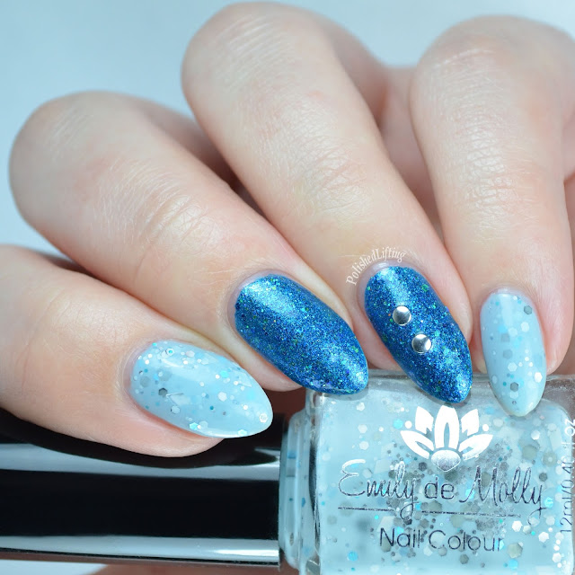 Emily de Molly Steeling Diamonds Jindie Nails The Blue That Holds Us Together